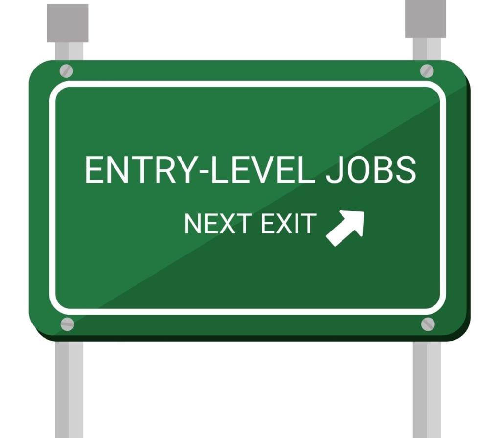 Why do some entry-level positions ask for 2 to 5 years experience?