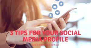 Your Social Media Profile